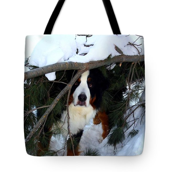 Sam And His Fort Tote Bag by Patti Whitten