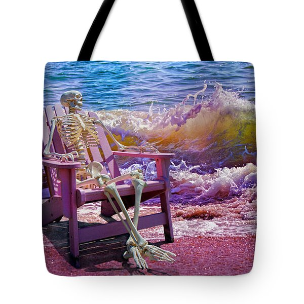 A-loon On The Beach  Tote Bag
