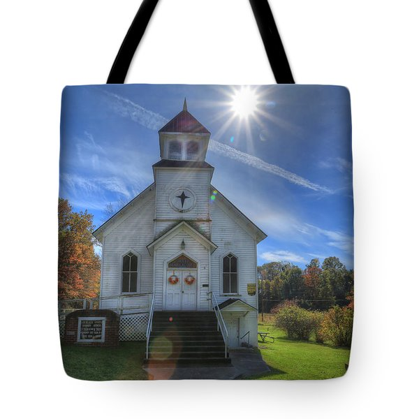 Sam Black Church Tote Bag by Jaki Miller