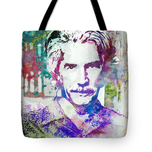 Sam Elliott Tote Bag