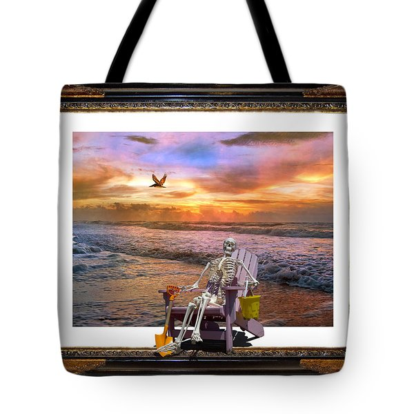 Sam Hangs Out With The Sunrise Tote Bag
