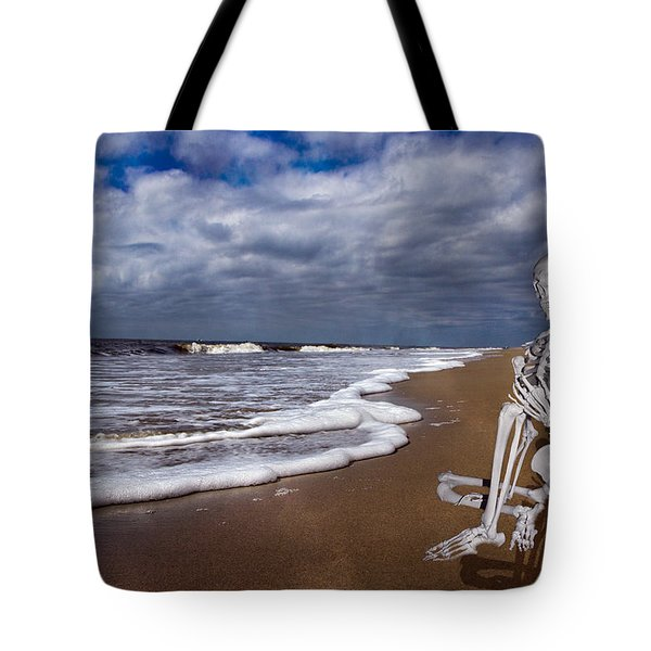 Sam Looks To The Ocean Tote Bag by Betsy C Knapp