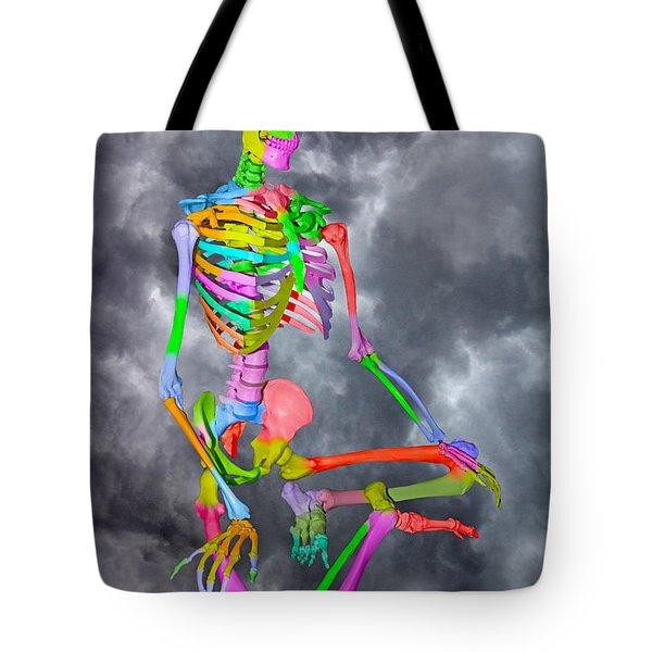 Sam Shows His Colors Tote Bag