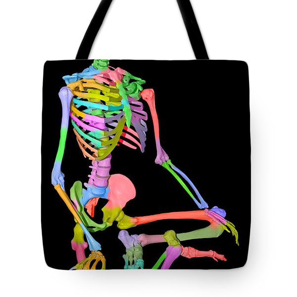 Sam Shows His Colors II Tote Bag by Betsy Knapp