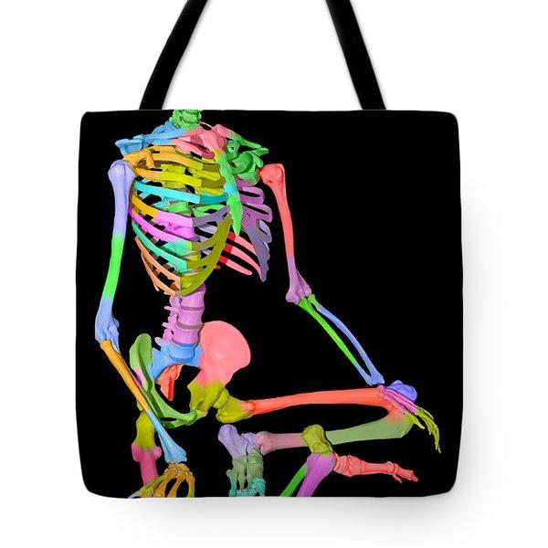 Sam Shows His Colors II Tote Bag