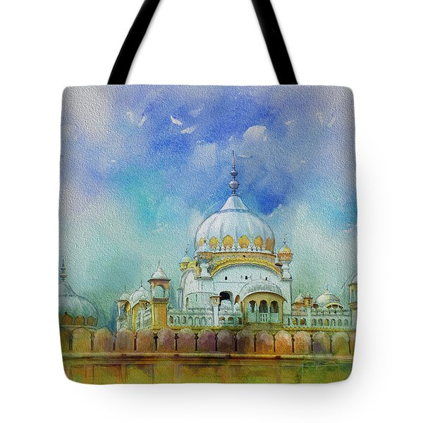 Samadhi Ranjeet Singh Tote Bag by Catf