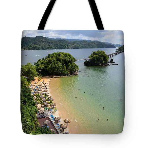 Samana In Dominican Republic Tote Bag by Jola Martysz