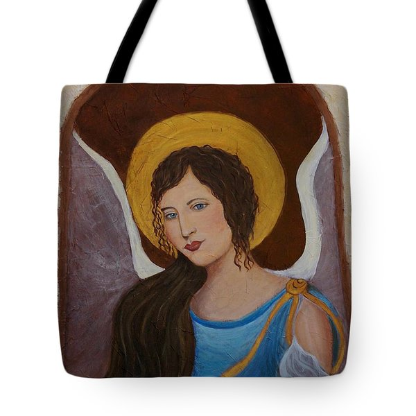 Samantha An Earthangel Tote Bag by The Art With A Heart By Charlotte Phillips