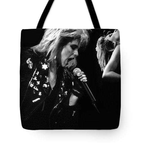 Samantha Fox 3 Tote Bag