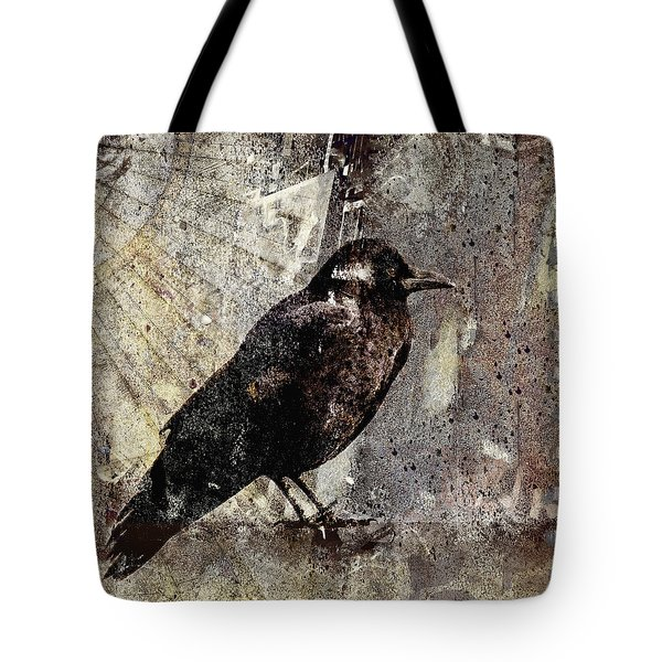 Same Crow Different Day Tote Bag
