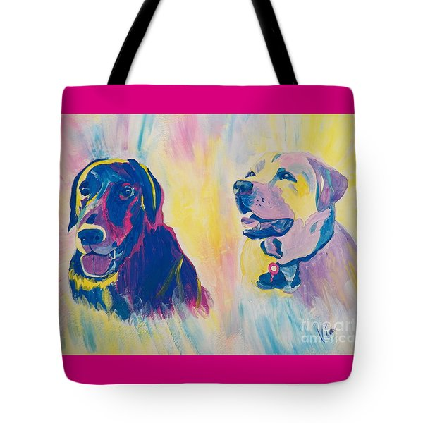 Sammy And Toby Tote Bag