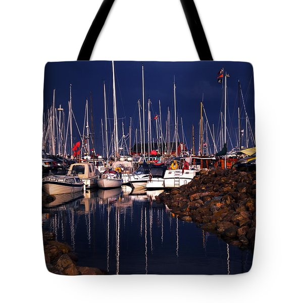 Tote Bag featuring the photograph Samsoe Island Denmark by Colette V Hera  Guggenheim