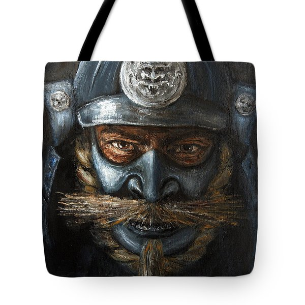 Samurai Tote Bag by Arturas Slapsys