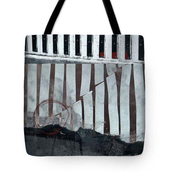 San Andreas Fault Tote Bag by Carol Leigh