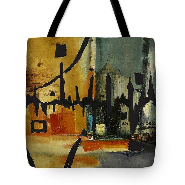 San Antonio 003 B Tote Bag by Corporate Art Task Force