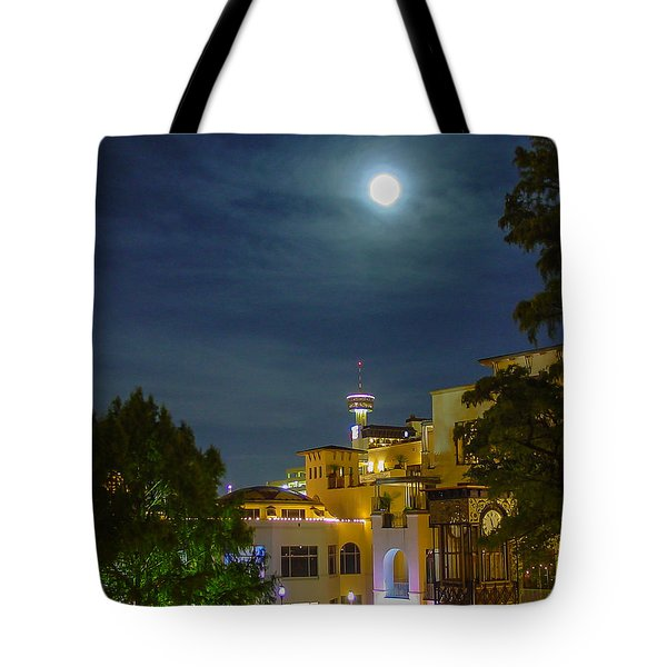 San Antonio Cityscape Tote Bag