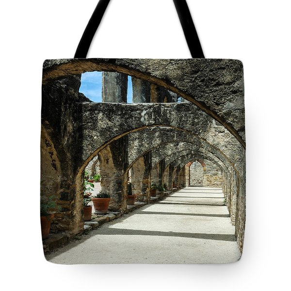 San Antonio Mission Arches Tote Bag