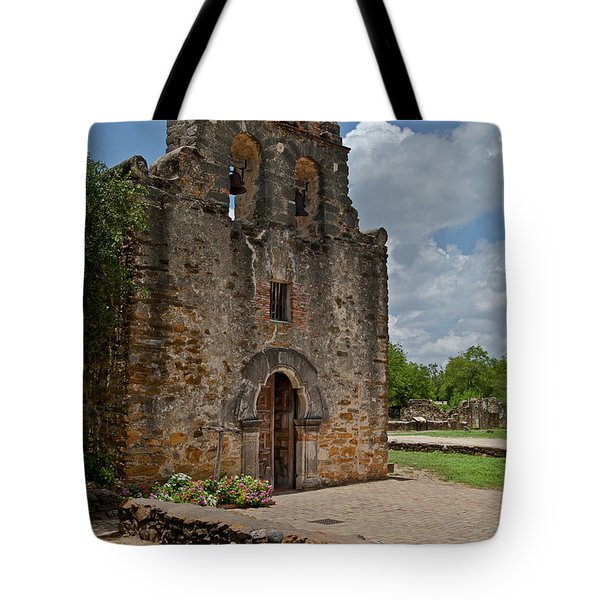 San Antonio Mission Tote Bag