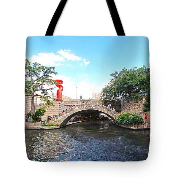 San Antonio River Walk Tote Bag