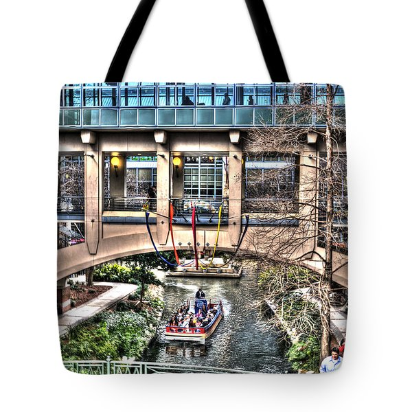Tote Bag featuring the photograph San Antonio Riverwalk by Deborah Klubertanz
