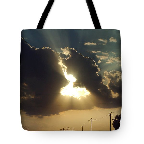 Tote Bag featuring the photograph San Antonio Sunset by Peter Piatt