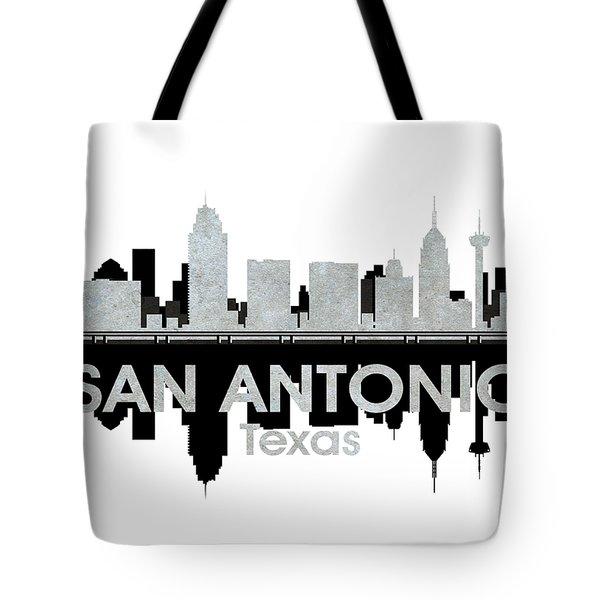San Antonio Tx 4 Tote Bag