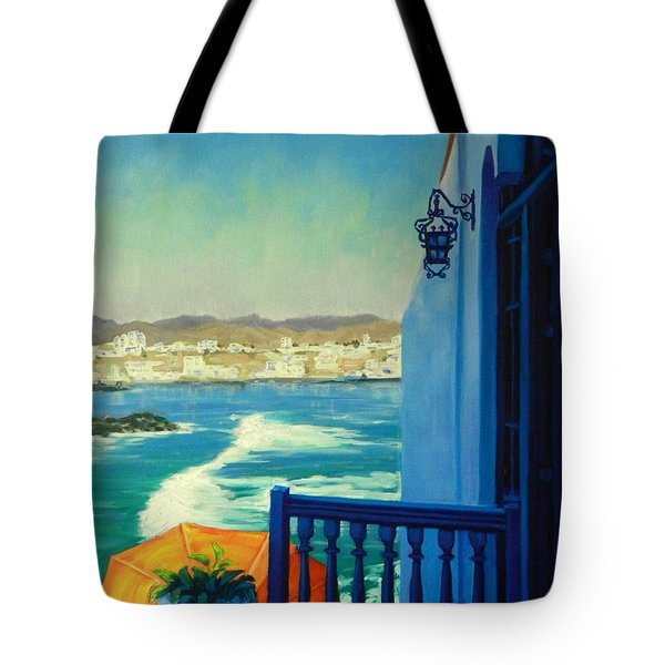 San Bartolo Bay Tote Bag