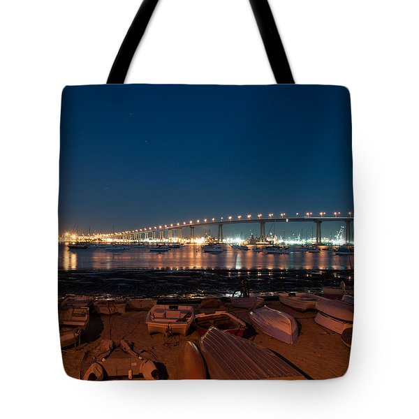 San Diego Bridge  Tote Bag