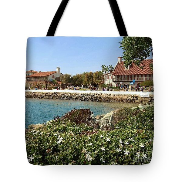 Tote Bag featuring the photograph San Diego Cute Place by Jasna Gopic