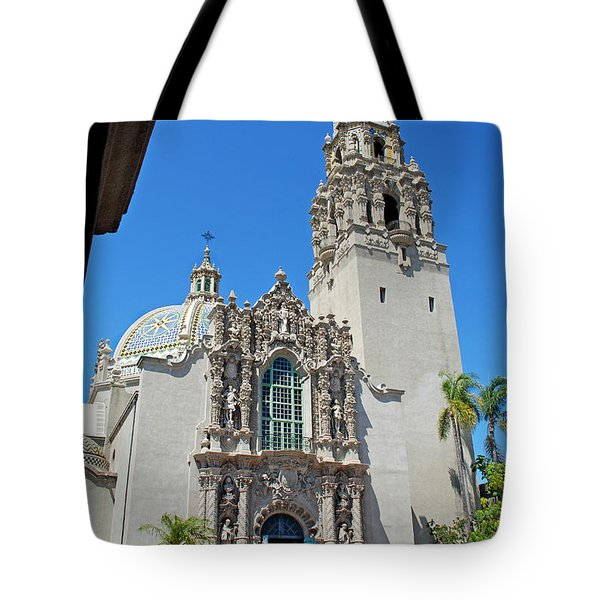 San Diego Museum Of Man Tote Bag