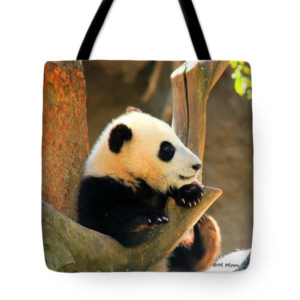 San Diego Zoo Panda Bear Xiao Liwu Tote Bag