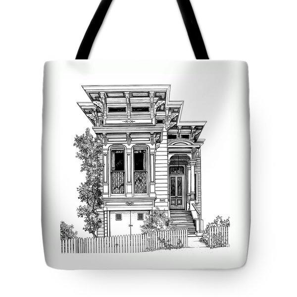 San Fracisco Victorian2 Tote Bag