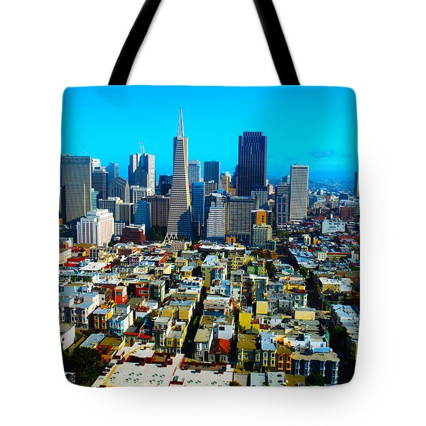 San Fran Colors Tote Bag