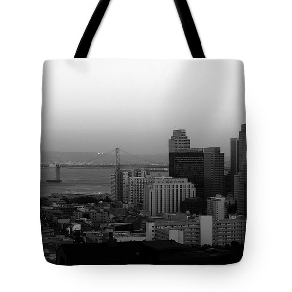 San Francisco Tote Bag by Aidan Moran
