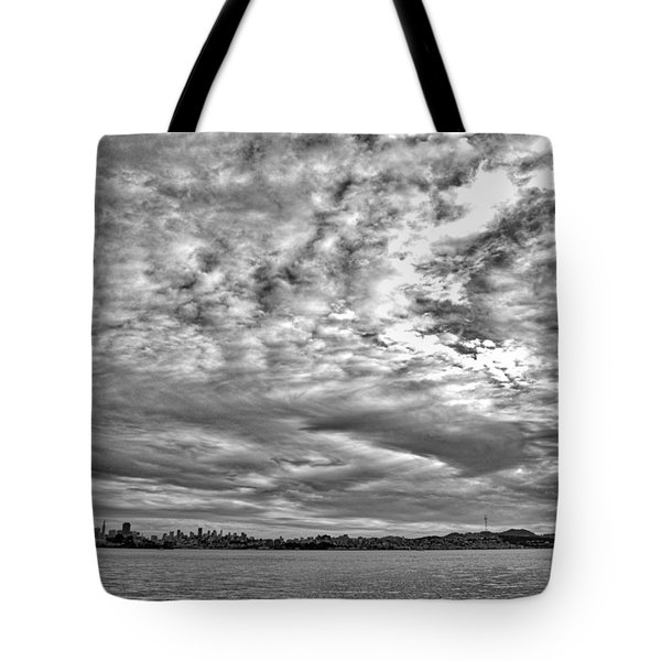 San Francisco Clouds Tote Bag