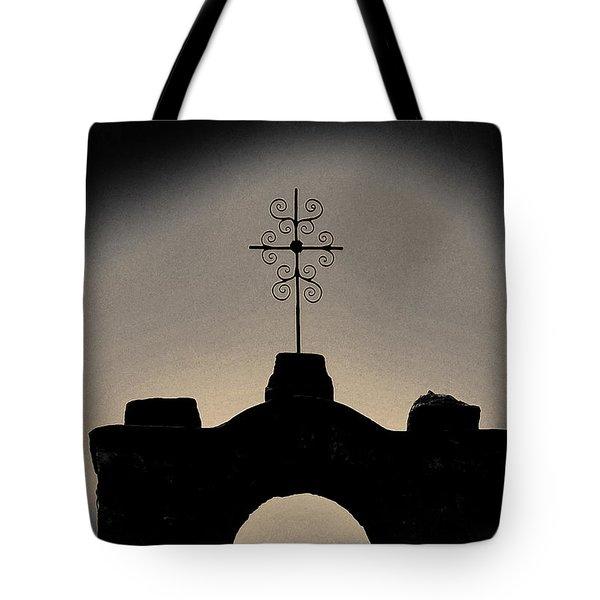 San Francisco De La Espada Mission Tote Bag