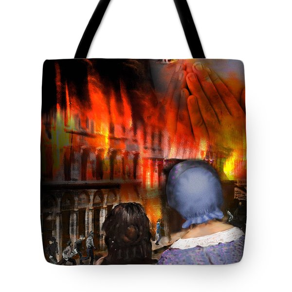 San Francisco Fire Tote Bag