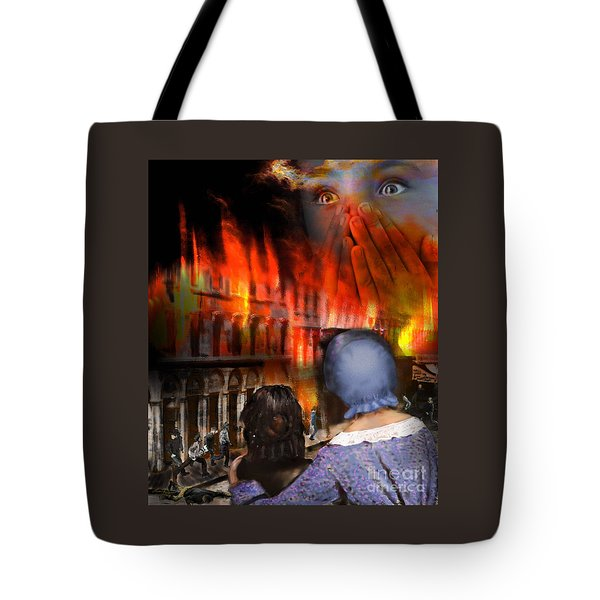 San Francisco Fire Tote Bag