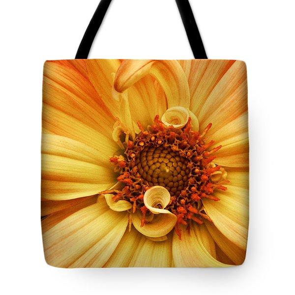 San Francisco Flower Tote Bag
