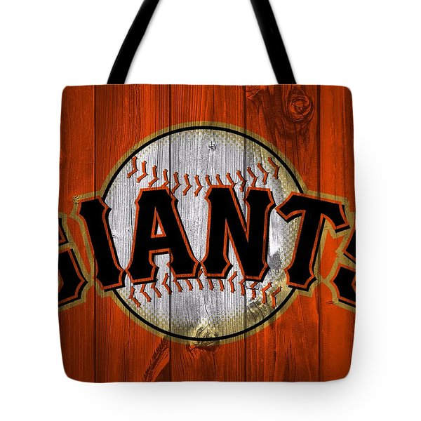San Francisco Giants Barn Door Tote Bag