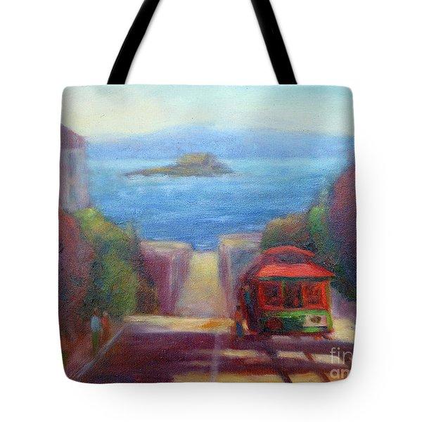 San Francisco Hills Tote Bag
