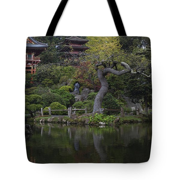 San Francisco Japanese Garden Tote Bag by Mike Reid