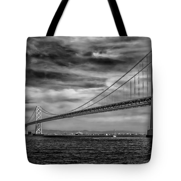 San Francisco - Oakland Bay Bridge Tote Bag