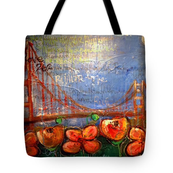 San Francisco Poppies For Lls Tote Bag
