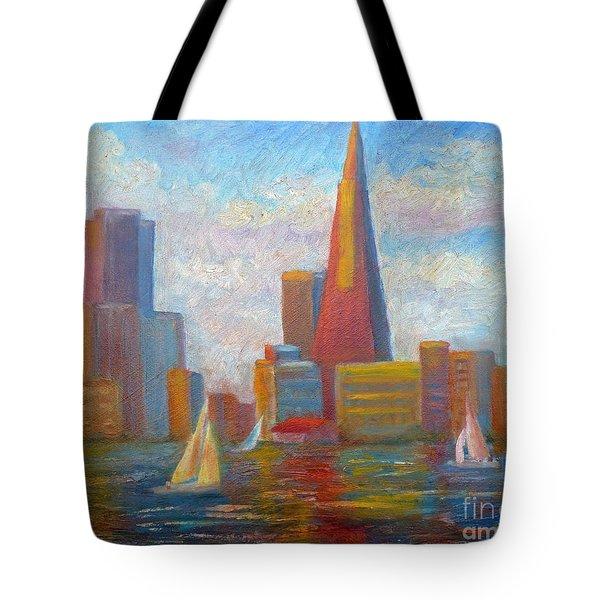 San Francisco Reflections Tote Bag