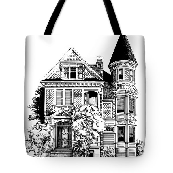 San Francisco Victorian Tote Bag
