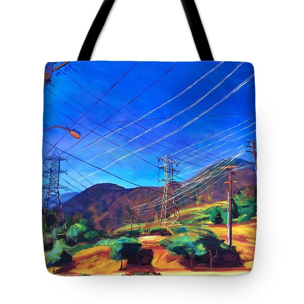 San Gabriel Power Tote Bag