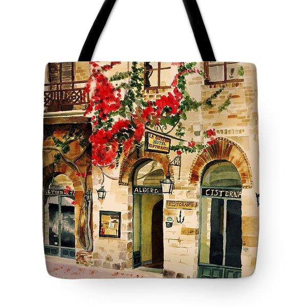 San Gimignano Tote Bag by Judy Swerlick