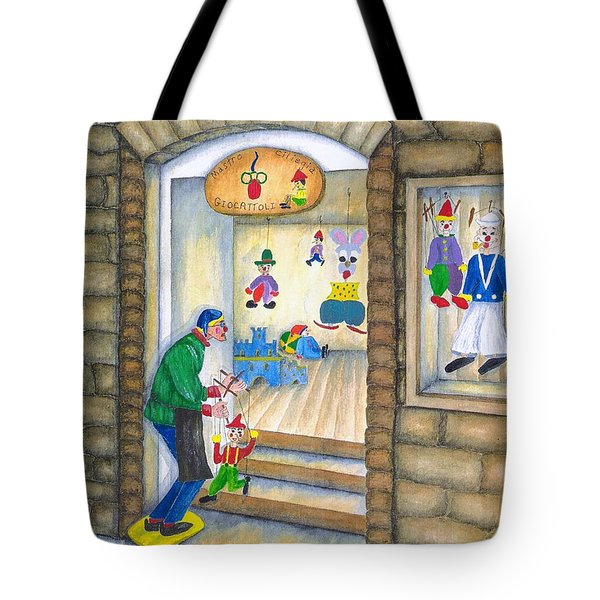 San Gimignano Tote Bag by Pamela Allegretto
