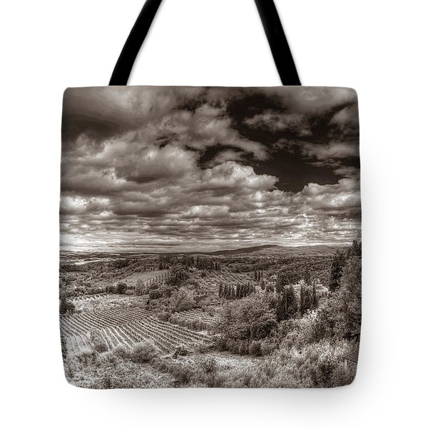 San Gimignano View Tote Bag